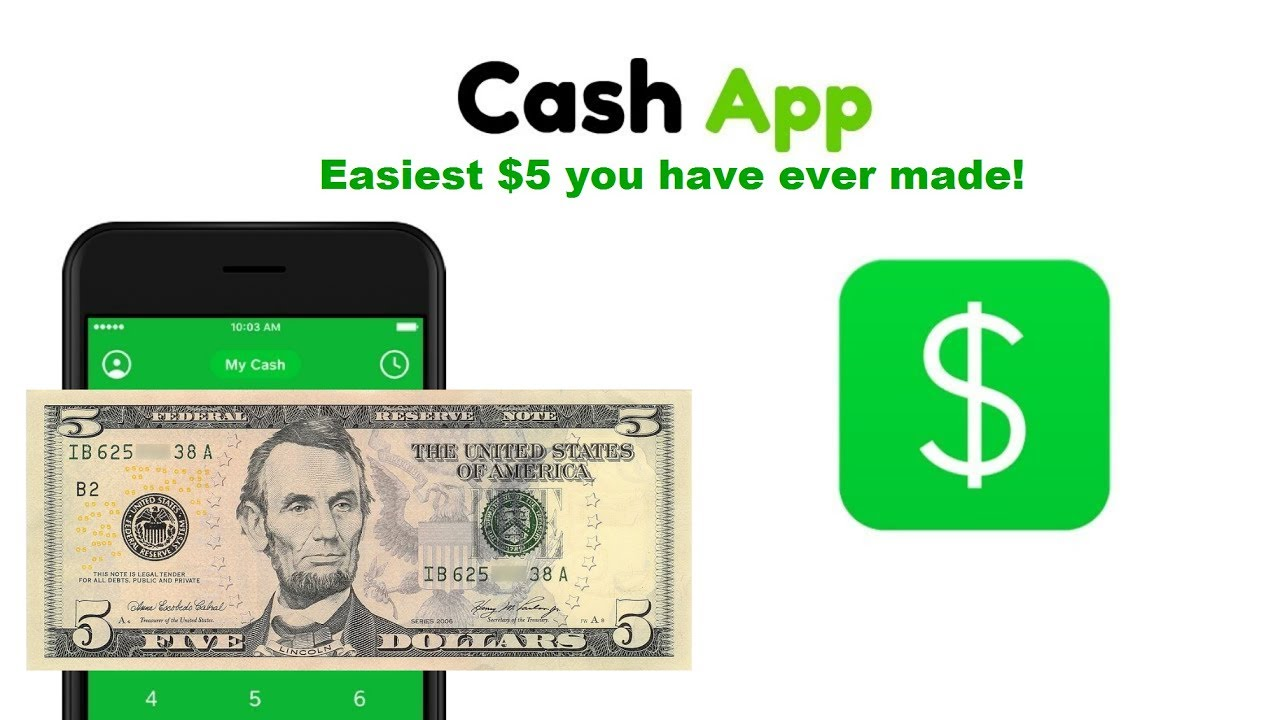 Cash app reward code/referral code how to get $5 dollars for free 2019! - YouTube