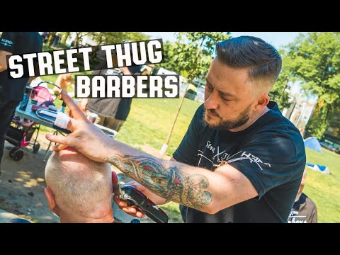 🇨🇦 Free Haircuts & Hugs For Homeless In Vancouver BC | Street Thug Barbers Short Film
