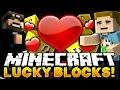 Minecraft: THE VALENTINES LUCKY BLOCK CHALLENGE   Custom Lucky Blocks W/ SSundee
