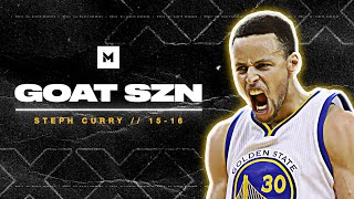 Stephen Curry Was GODLY During The 15-16 Season - UNANIMOUS MVP! | GOAT SZN