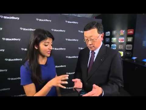 BlackBerry CEO John Chen's awkward demo of the BlackBerry Priv