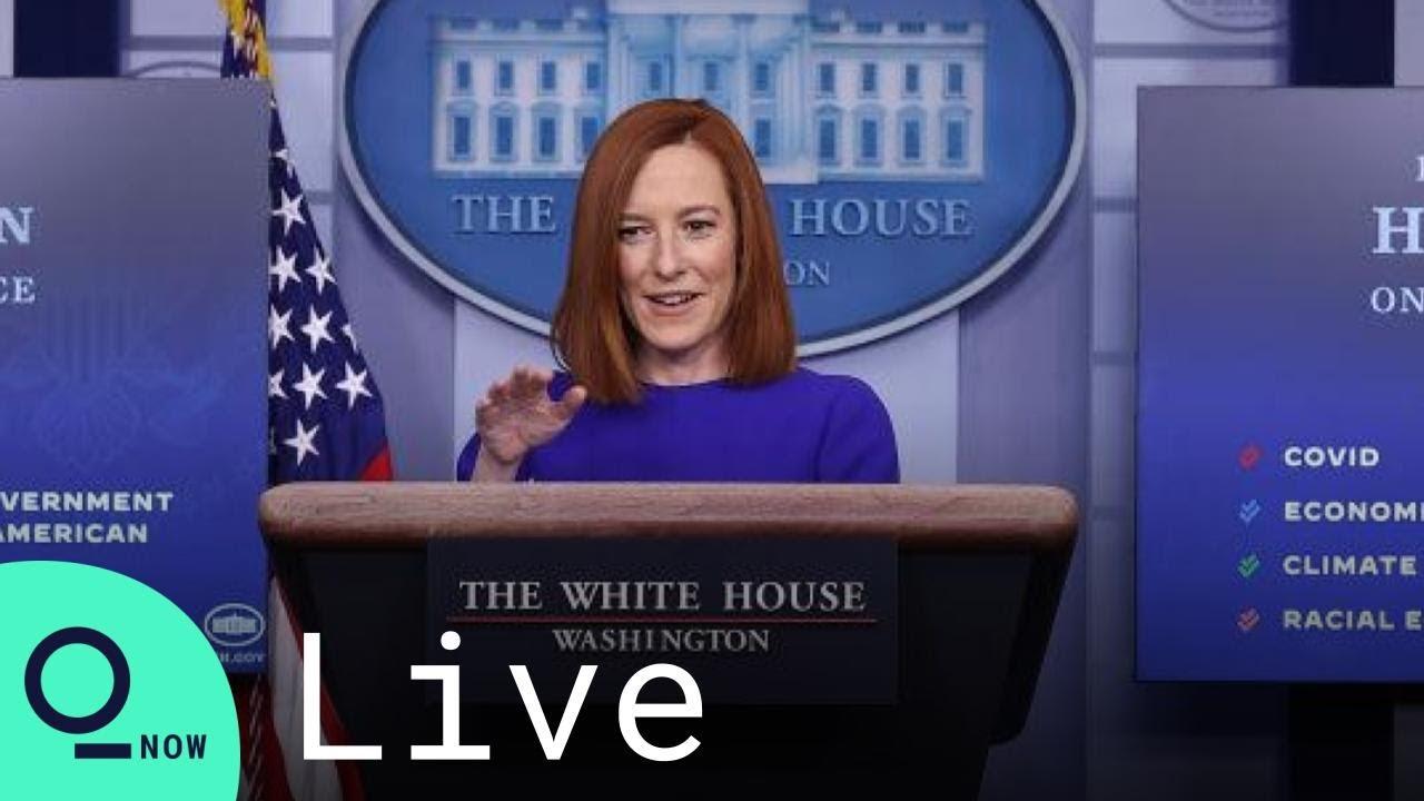 LIVE: White House Press Secretary Jen Psaki Holds First Briefing Under Biden - YouTube