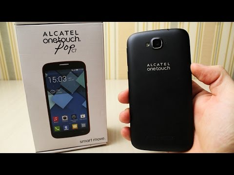 Смартфон за 5000. Alcatel One Touch POP C7 7041D Dual Sim Black