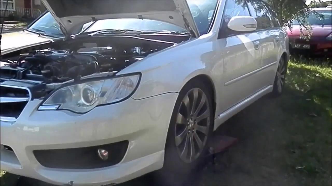 Subaru Liberty Ep4 - Virtual Dyno Runs! AVCS Problems! OIL and Filter  Change!