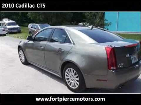 2010 cadillac cts used cars port saint lucie fl youtube. Black Bedroom Furniture Sets. Home Design Ideas