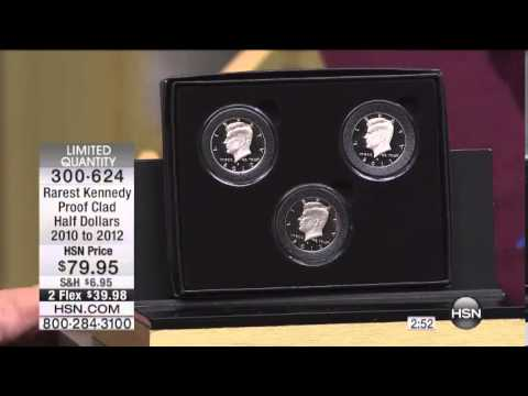 Rarest Kennedy Proof Clad Half Dollars 2010 to 2012