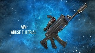 How To Aim Abuse In Fortnite Ps4 and Xbox One