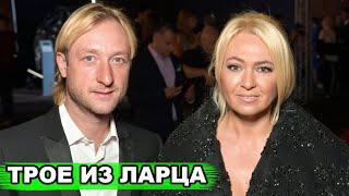 Три голубоглазых блондина Счастливый Плющенко ПОХВАСТАЛСЯ подросшими сыновьями