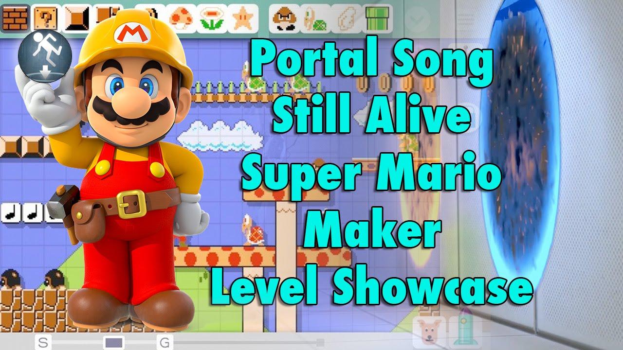 Super Mario Maker - Portal Theme Music Level