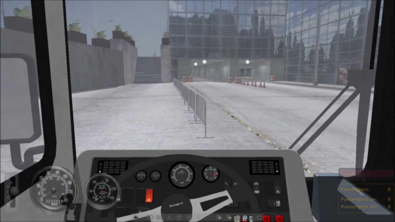 city bus simulator 2010 New Flyer D40LF - YouTube