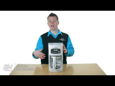 Cuisinart Coffeemakers DCC1100BK and DCC1100 Overview