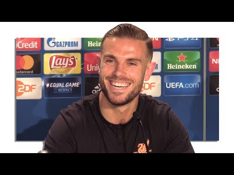 Jordan Henderson Full Pre-Match Press Conference - Hoffenheim v Liverpool - Champions League