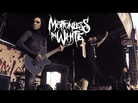 Motionless in White - Devil's Night Live Vans Warped Tour 2014 Houston