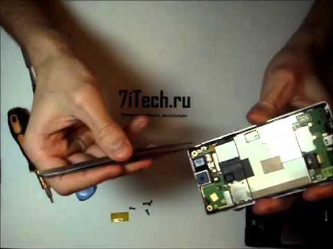 7iTech: как разобрать HTC T5353 Touch Diamond2
