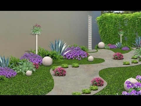 Como hacer un jardin interior peque o youtube for Como disenar un jardin pequeno en casa