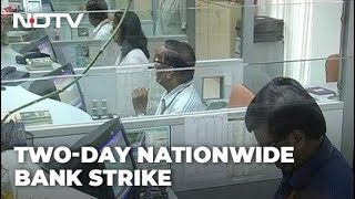 2-Day Bank Strike: Services To Be Hit As 10 Lakh Employees Join Protest
