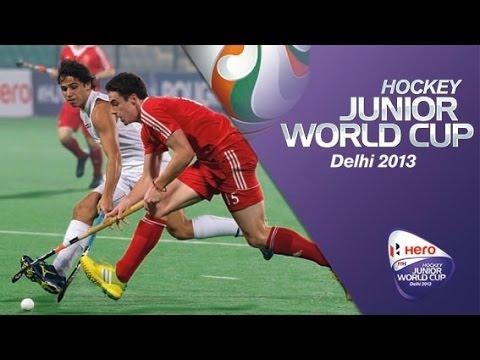 New Zealand vs England - Men's Hero Hockey Junior World Cup India Group [08/12/2013]