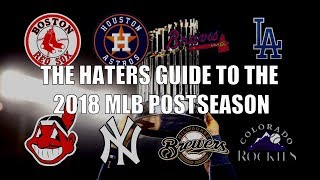 The Hater's Guide to the 2018 MLB Postseason