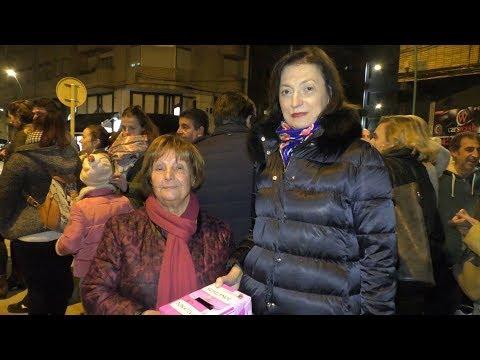Castañas Solidarias a favor de la Asociación Nacional Contra el Cáncer