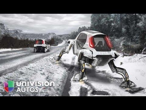 El Hyundai Elevate Concept es el primer carro con cuatro piernas   Univision Autos