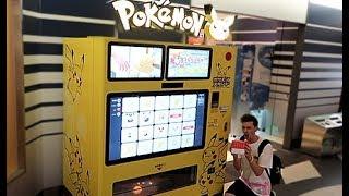 Biggest Pokemon Vending Machine in the World