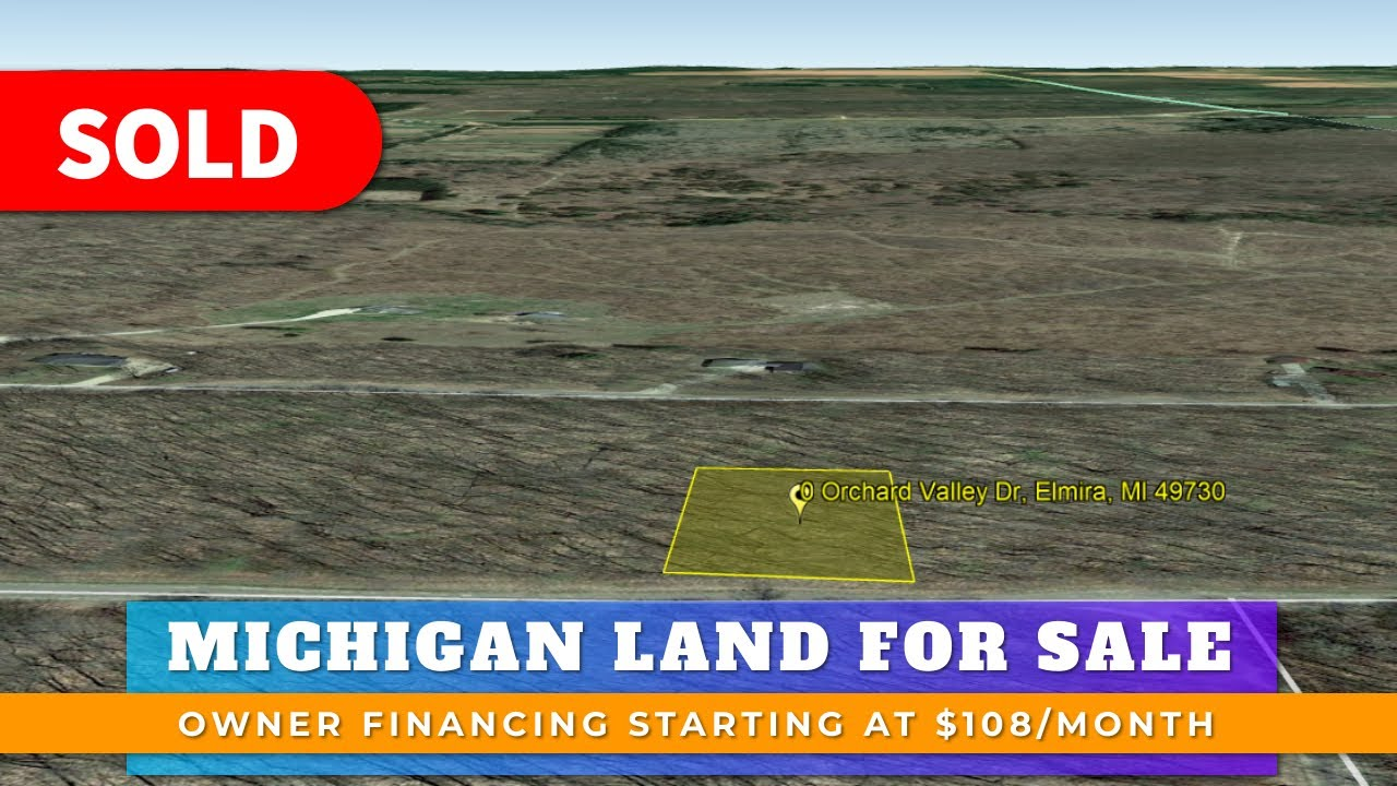 Just Sold By WeSellNewYorkLand.com - Cheap Land For Sale Lot 367 Orchard Valley Dr Elmira, Michigan
