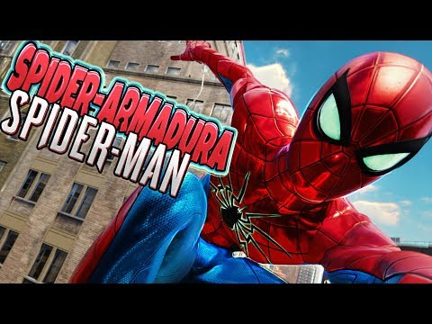 TRAJE SPIDER-ARMADURA - Marvel's SpiderMan PS4