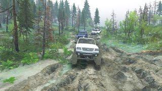 SPINTIRES ONLINE | CARRERA DE TODOTERRENOS 4X4  | JMGAMER(Una carrera de 4 todoterrenos diferentes. toyota land cruiser, ford 250, ford ranger y Land Rover disfrutar del video. =) Vista Titan., 2016-09-18T15:15:09.000Z)