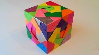 Куб из модулей (Mitsunobu Sonobe), Cube module.