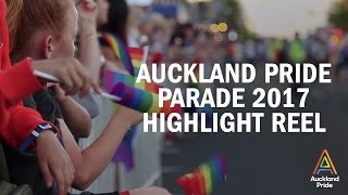 auckland pride parade 2017 highlight reel