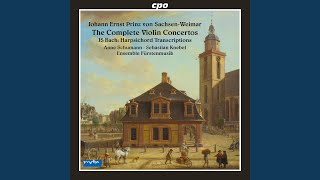 Keyboard Concerto in G Major, BWV 592a : III. Presto