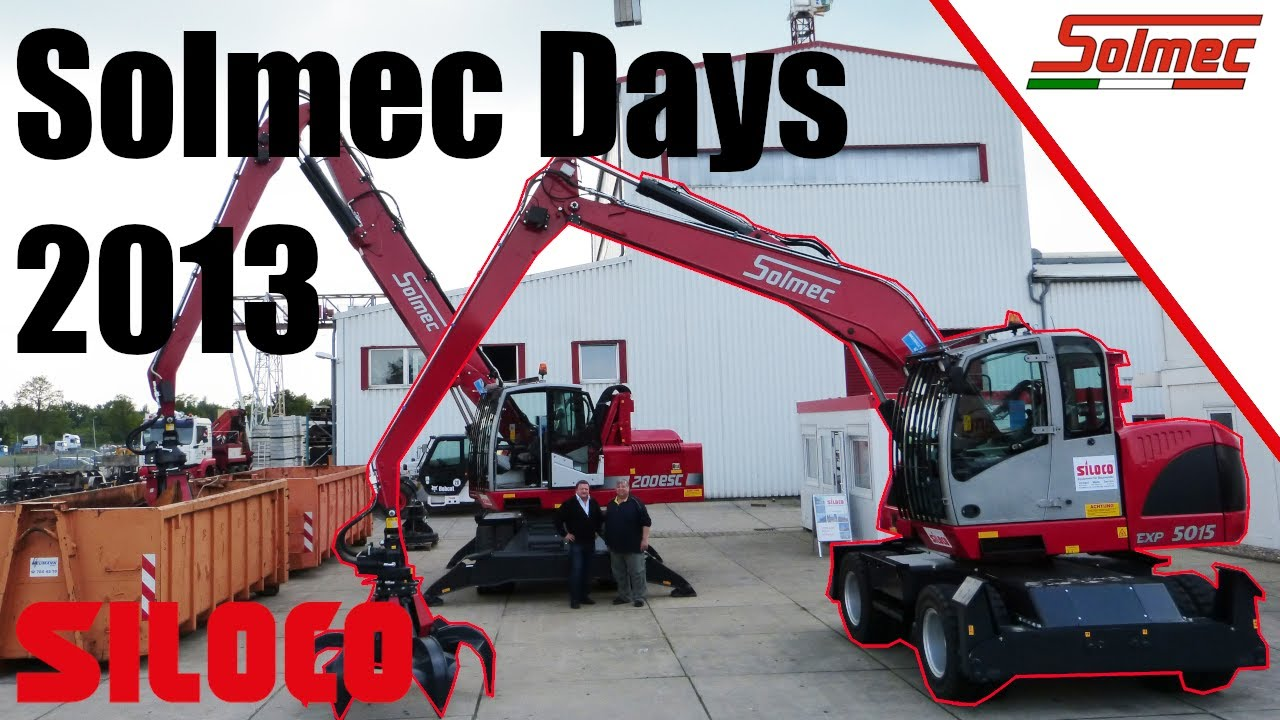 Youtube Video: Solmec Days bei Siloco 2013