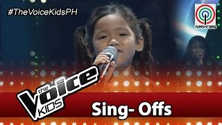 """The Voice Kids Philippines 2016 Sing-Off Performance: """"Ben"""" by Claire"""