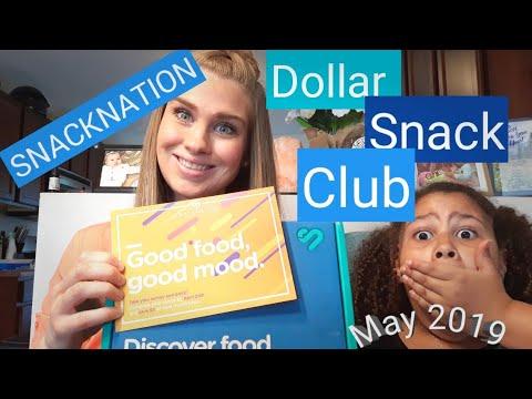 SNACKNATION Dollar Snack Club | May 2019