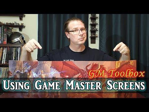 Using Game Master Screens - GM Toolbox
