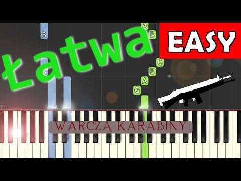 🎹 Warczą karabiny - Piano Tutorial (łatwa wersja) 🎹