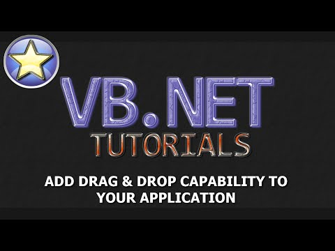VB.NET Tutorial - Drag and Drop