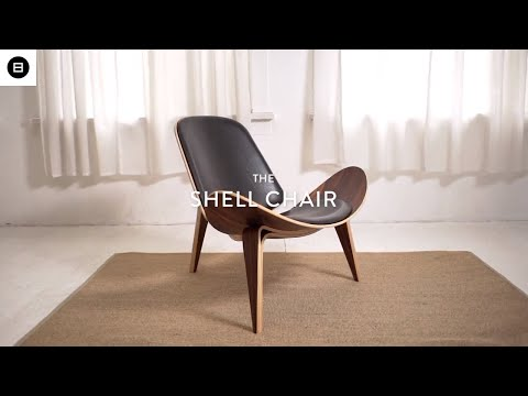 Shell Chair Reproduction by Hans Wegner | Mid Century Modern Furniture