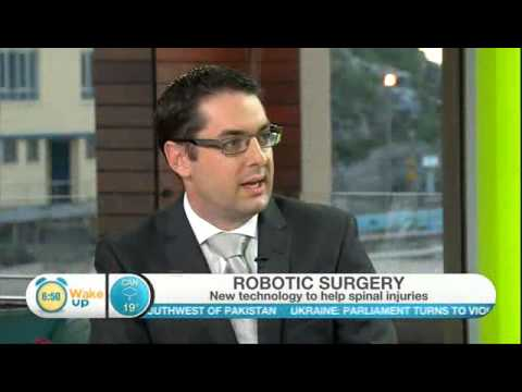 Wake Up Interview With Australian Spine Surgeon Dr. Jonathon Ball