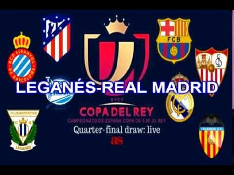 Sorteo Copa del Rey 2018 emparejamientos de cuartos de final