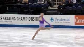 Bradie Tennell - 2015 U.S. Figure Skating Chamionships - Junior Ladies - Free Skate