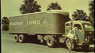 Roadway Express 75 Years of Service