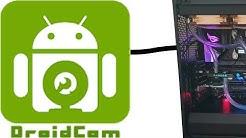 [TUT] DroidCam - Smartphone als PC-Webcam nutzen [4K | DE]