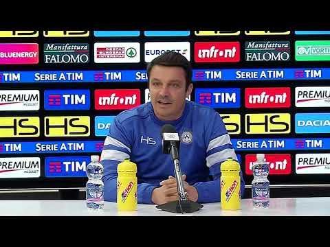 UDINEWS TV - La conferenza di Oddo pre Fiorentina