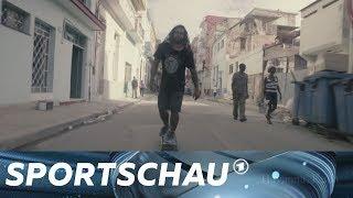 Skateboard fahren in Kuba - Rebellion auf Achsen   Sportschau