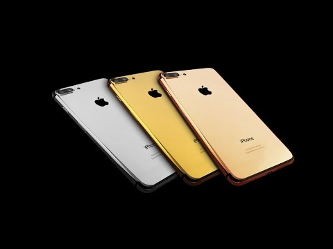 REAL 18k GOLD IPHONE 7 PLUS