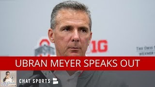 Ohio State Football: Urban Meyer News & Breakdown Of Ohio State's Schedule