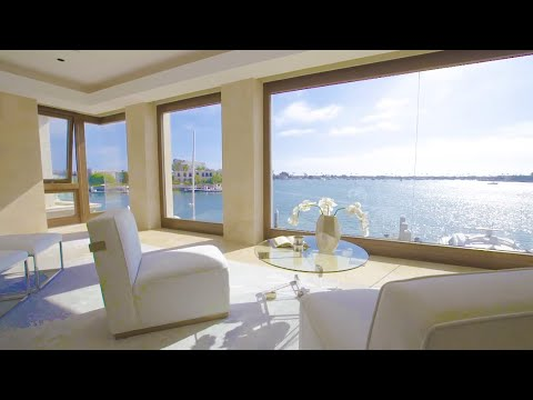 $16.9 Million Home   Luxury Waterfront Property in Newport Beach