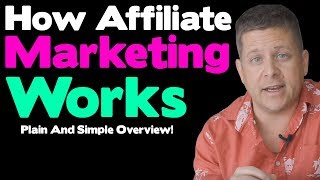 How Affiliate Marketing Works - New For 2019 - Affiliate Marketing Tutorial For Beginners