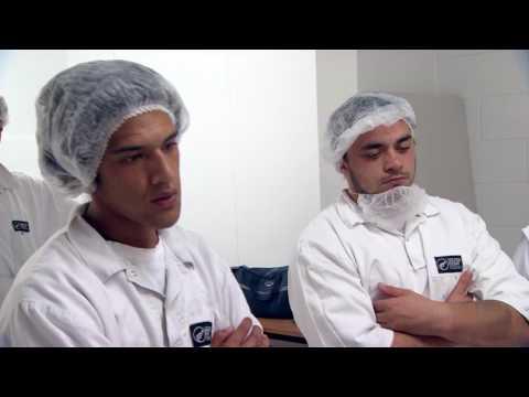 Knife Skills Training At Silver Fern Farms